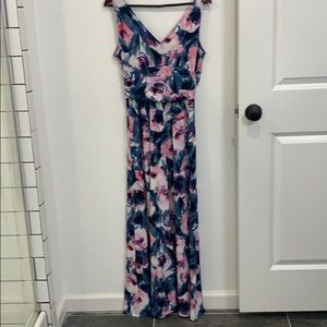 Anthropologie maxi floral never worn